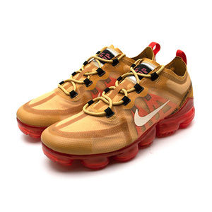 Nike Air Vapormax 2019 Gold Crimson Red Men 9.5